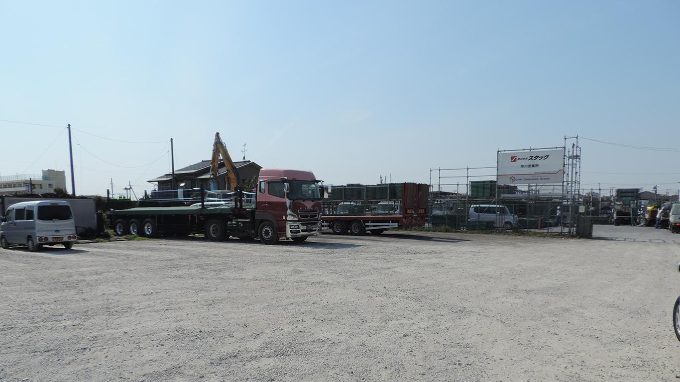 トラック駐車場・資材置き場向け用地